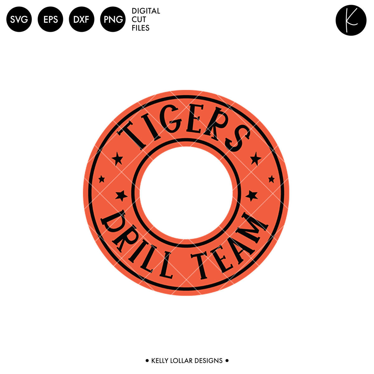 Tigers Drill Bundle | SVG DXF EPS PNG Cut Files