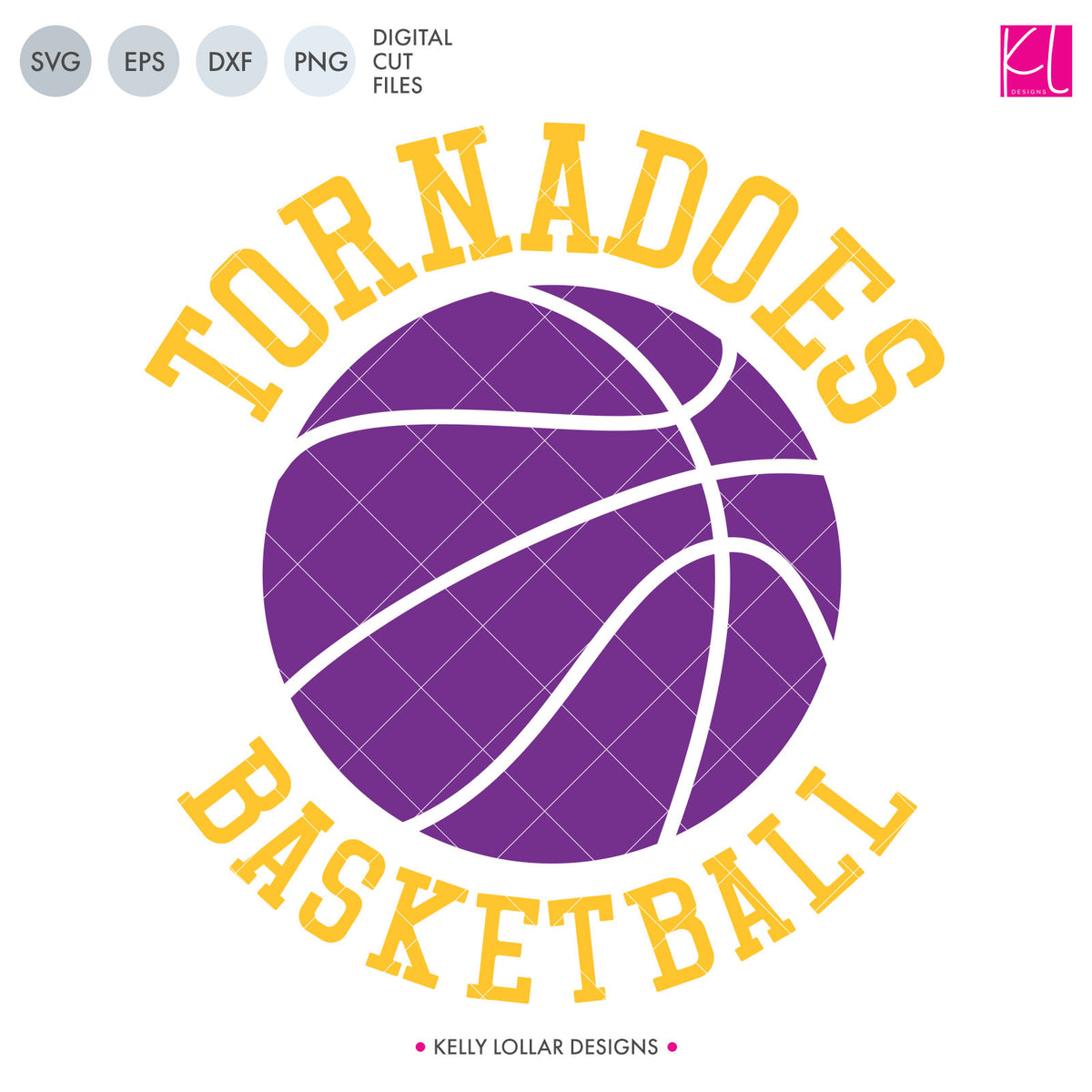 Tornadoes Basketball Bundle | SVG DXF EPS PNG Cut Files
