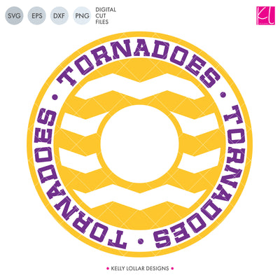 Tornadoes Mascot Bundle | SVG DXF EPS PNG Cut Files