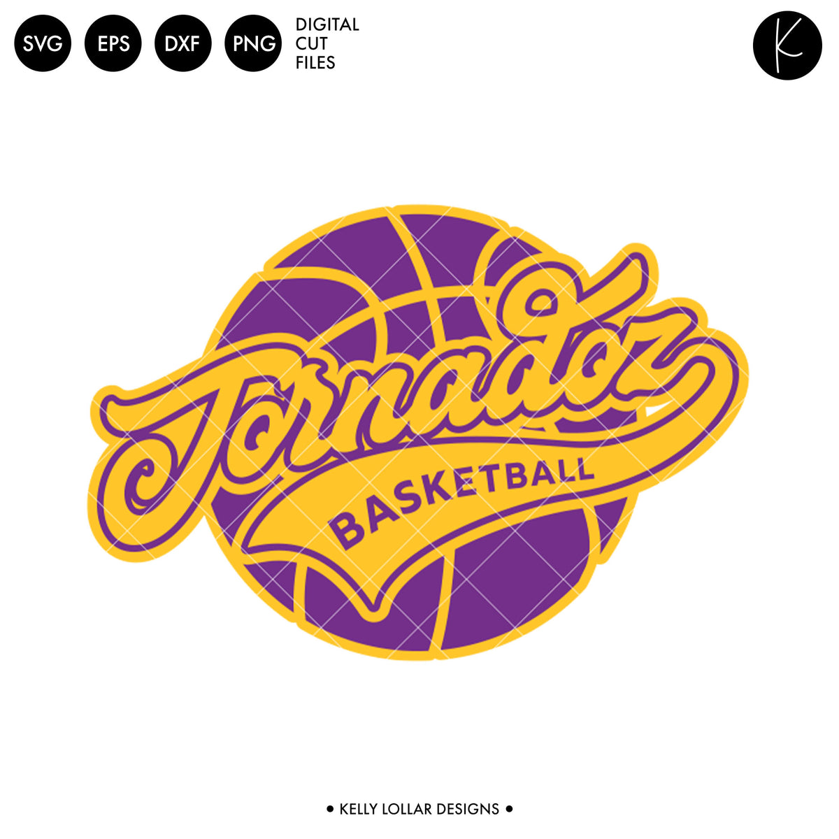 Tornadoz Athletic Script Basketball | SVG DXF EPS PNG Cut Files