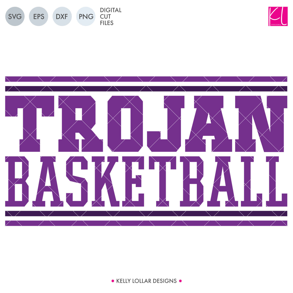 Trojans Basketball Bundle | SVG DXF EPS PNG Cut Files