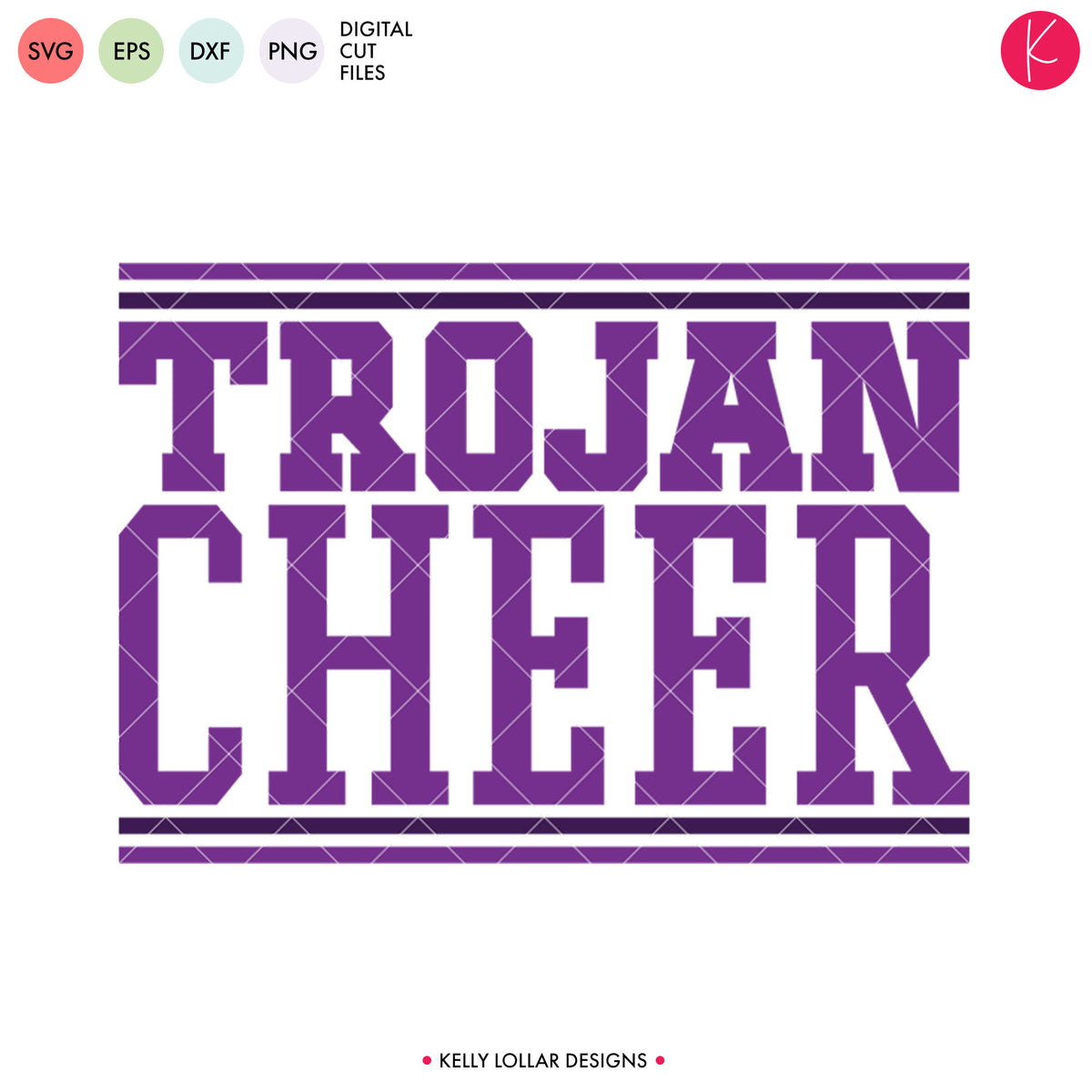 Trojans Cheer Bundle | SVG DXF EPS PNG Cut Files