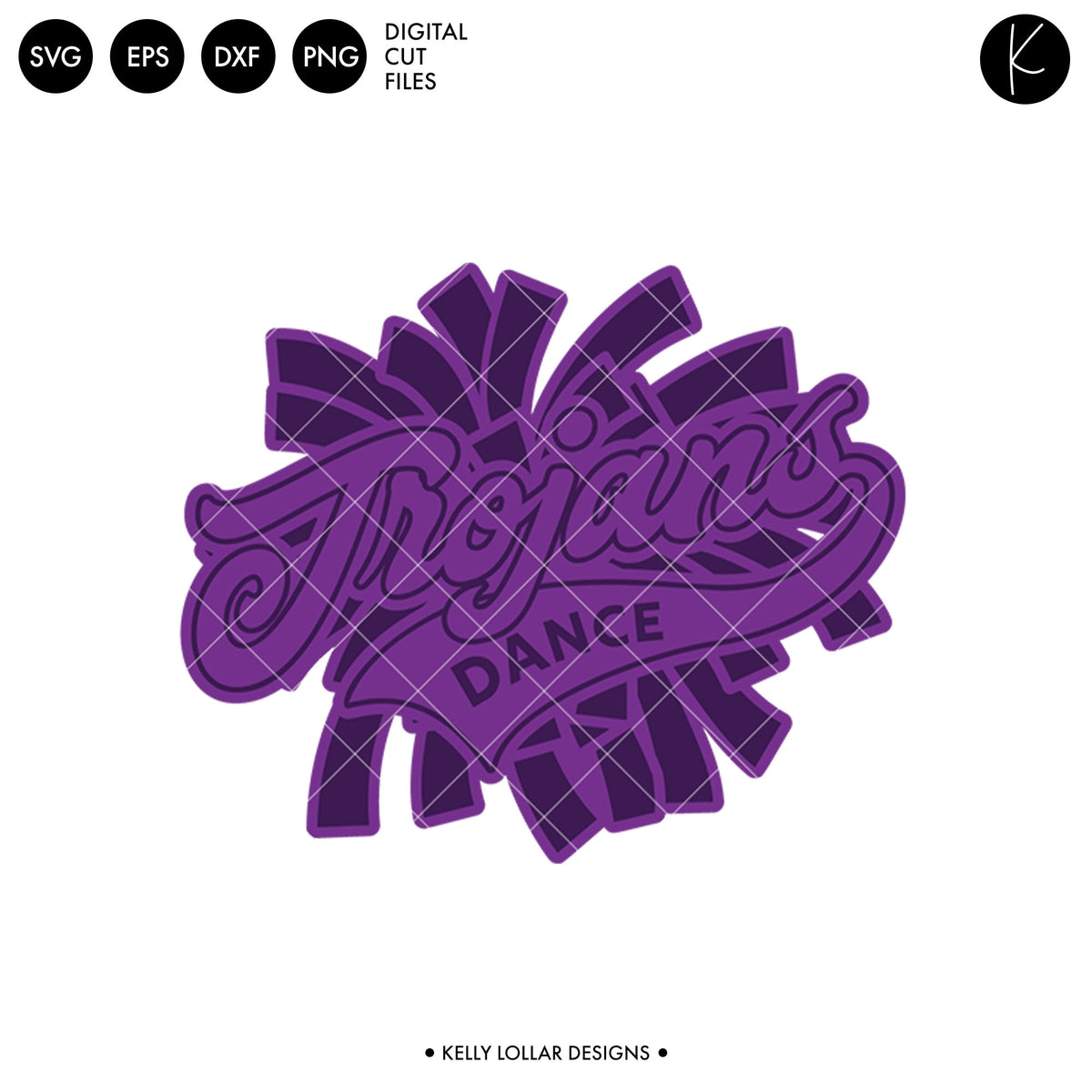 Trojans Dance Bundle | SVG DXF EPS PNG Cut Files