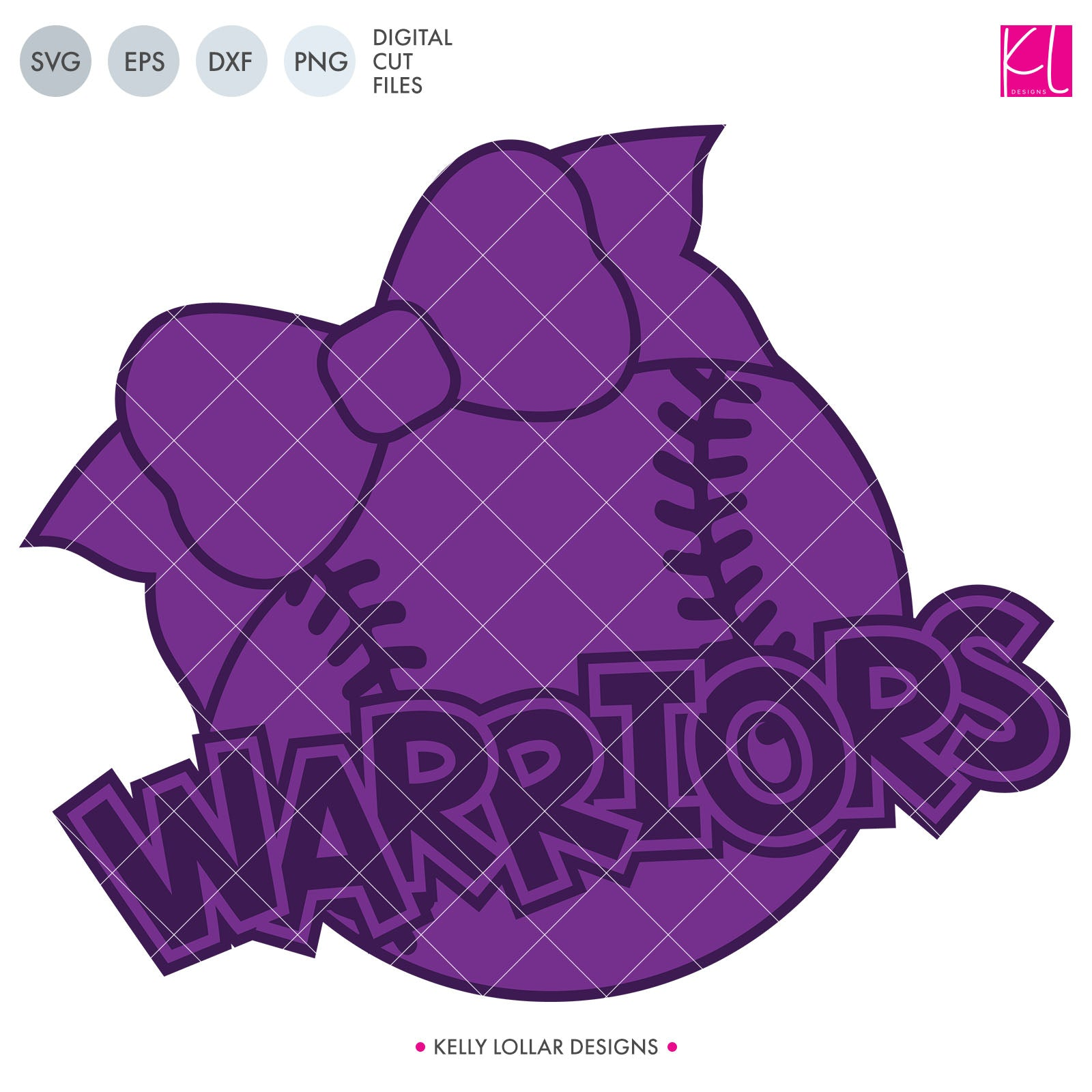 Warriors Baseball & Softball Bundle | SVG DXF EPS PNG Cut Files It's baseball and softball season, so Warrior crafter know what that means ... new spirit shirts! This fifteen-piece bundle includes a little something for everyone - from girly and cute