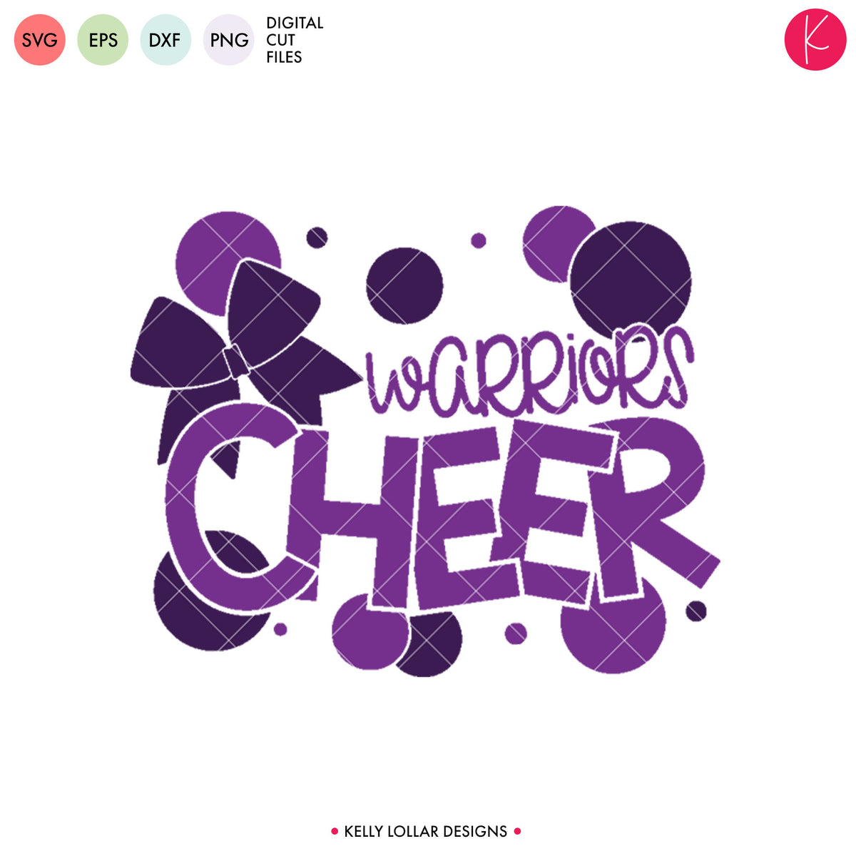 Warriors Cheer Bundle | SVG DXF EPS PNG Cut Files