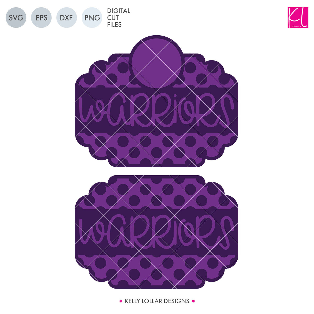 Warriors Mascot Bundle | SVG DXF EPS PNG Cut Files