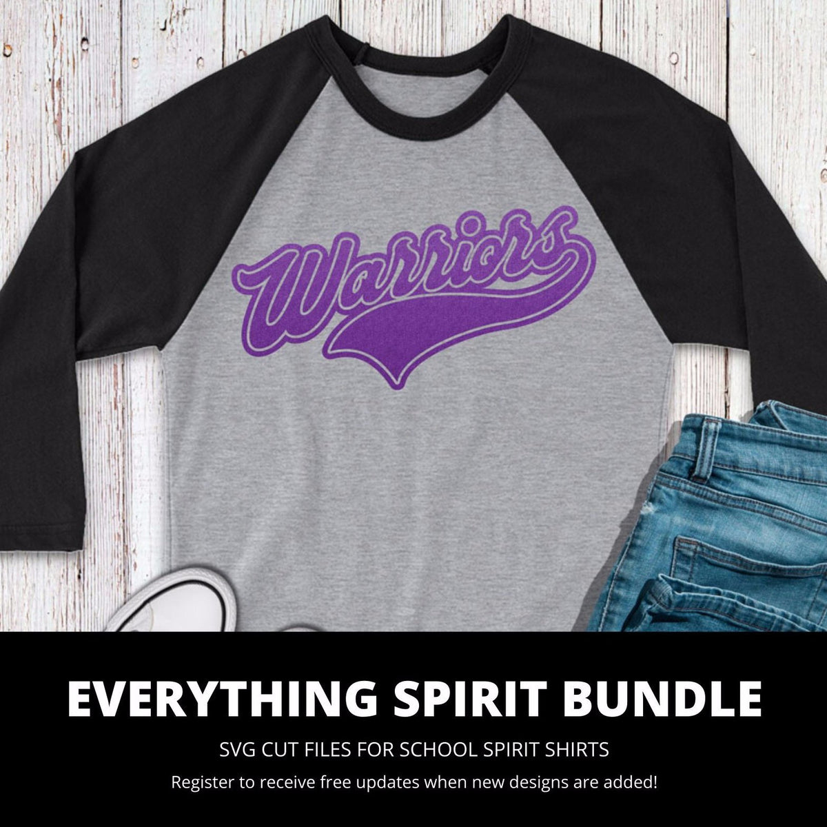 Warriors Everything Spirit Bundle | SVG DXF EPS PNG Cut Files