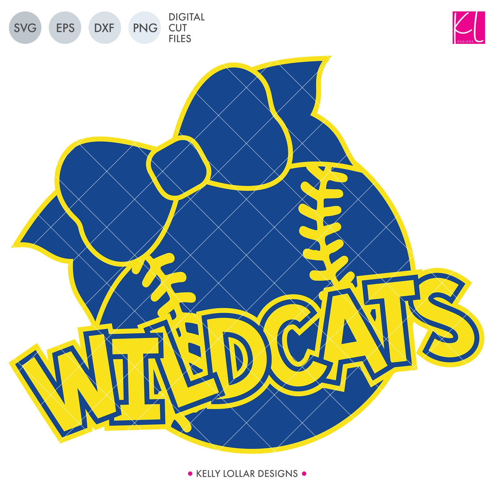 Wildcats Baseball & Softball Bundle | SVG DXF EPS PNG Cut Files It's baseball and softball season, so Wildcat crafter know what that means ... new spirit shirts! This fifteen-piece bundle includes a little something for everyone - from girly and cute