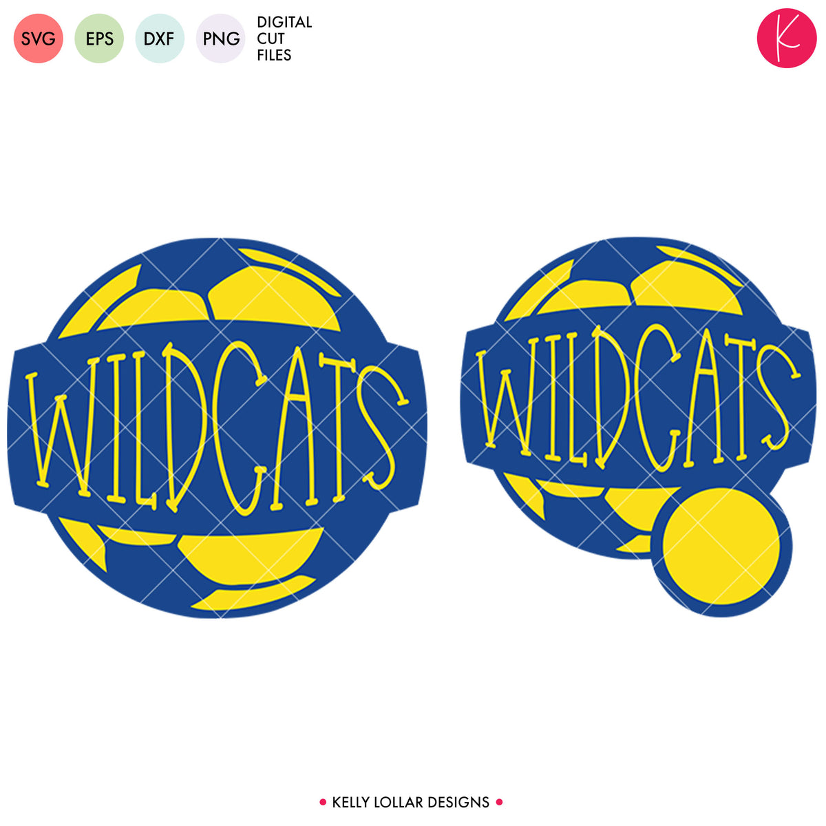 Wildcats Soccer  | SVG DXF EPS PNG Cut Files