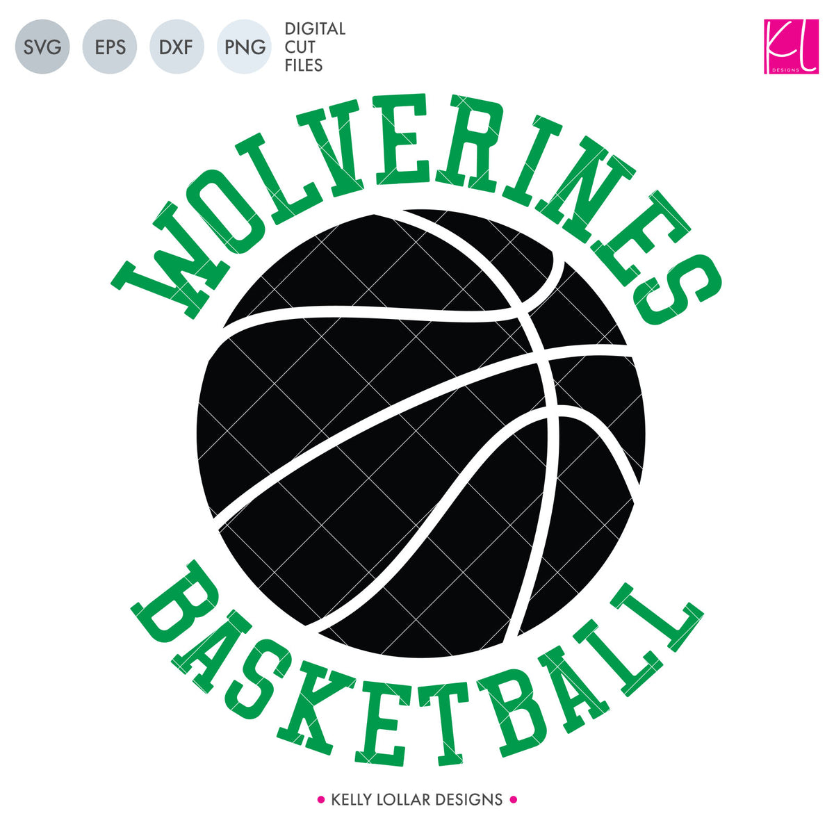 Wolverines Basketball Bundle | SVG DXF EPS PNG Cut Files
