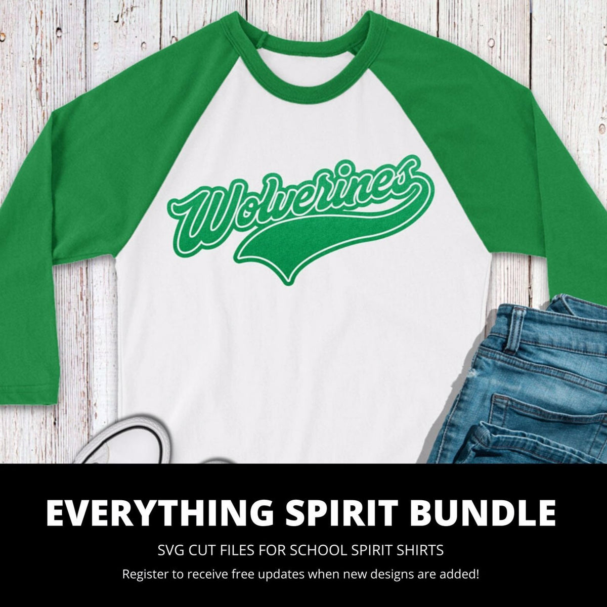 Wolverines Everything Spirit Bundle | SVG DXF EPS PNG Cut Files