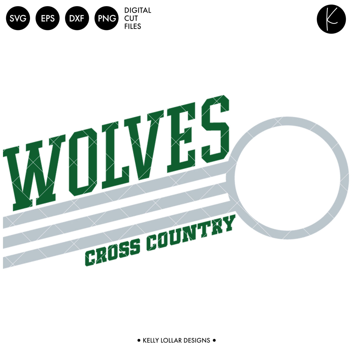 Wolves Cross Country Bundle | SVG DXF EPS PNG Cut Files