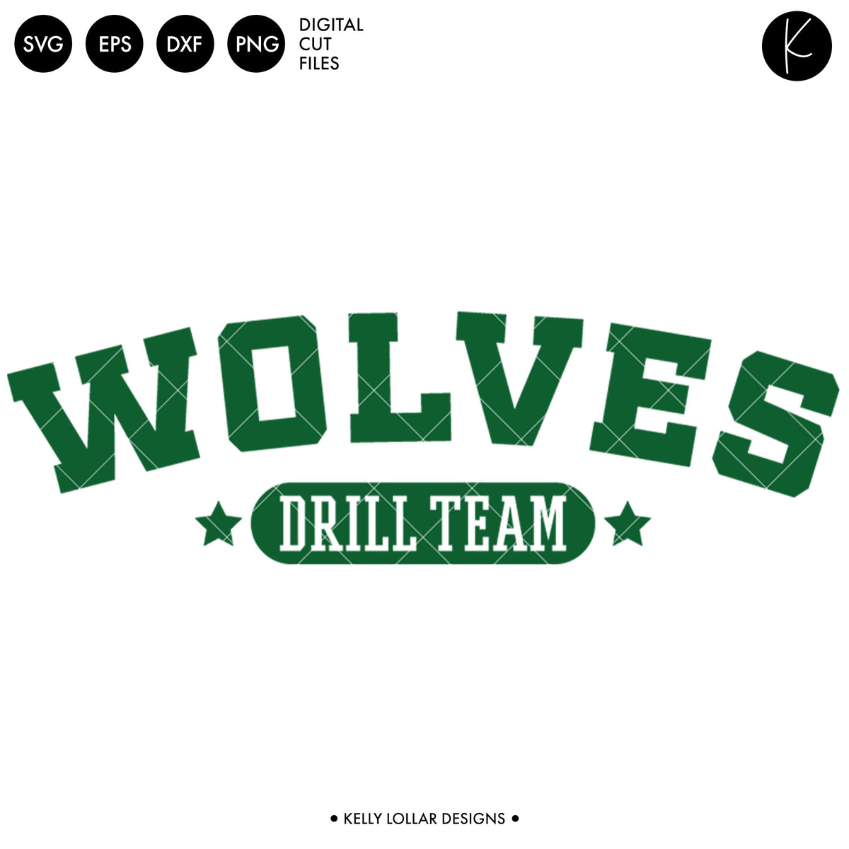 Wolves Drill Bundle | SVG DXF EPS PNG Cut Files