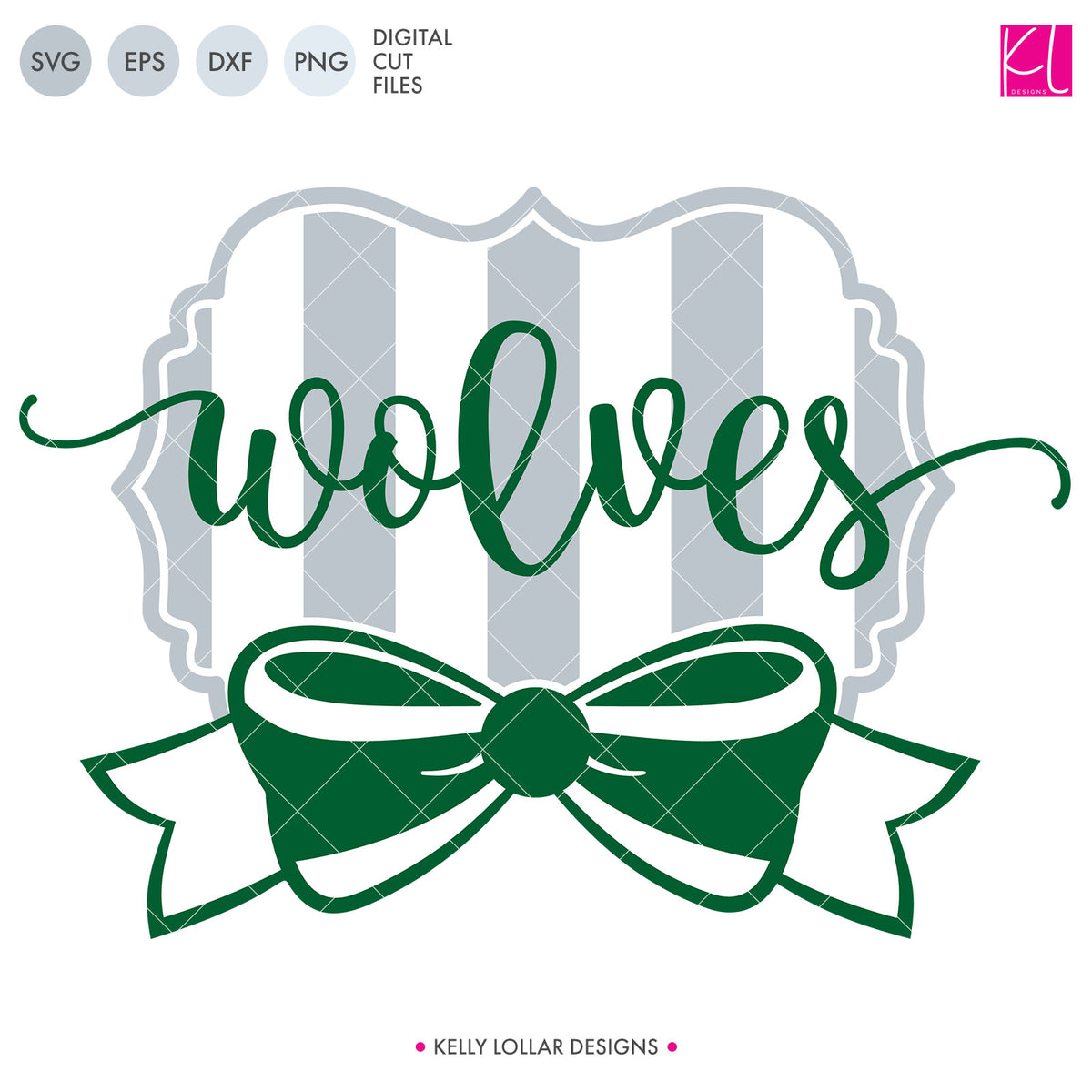 Wolves Mascot Bundle | SVG DXF EPS PNG Cut Files