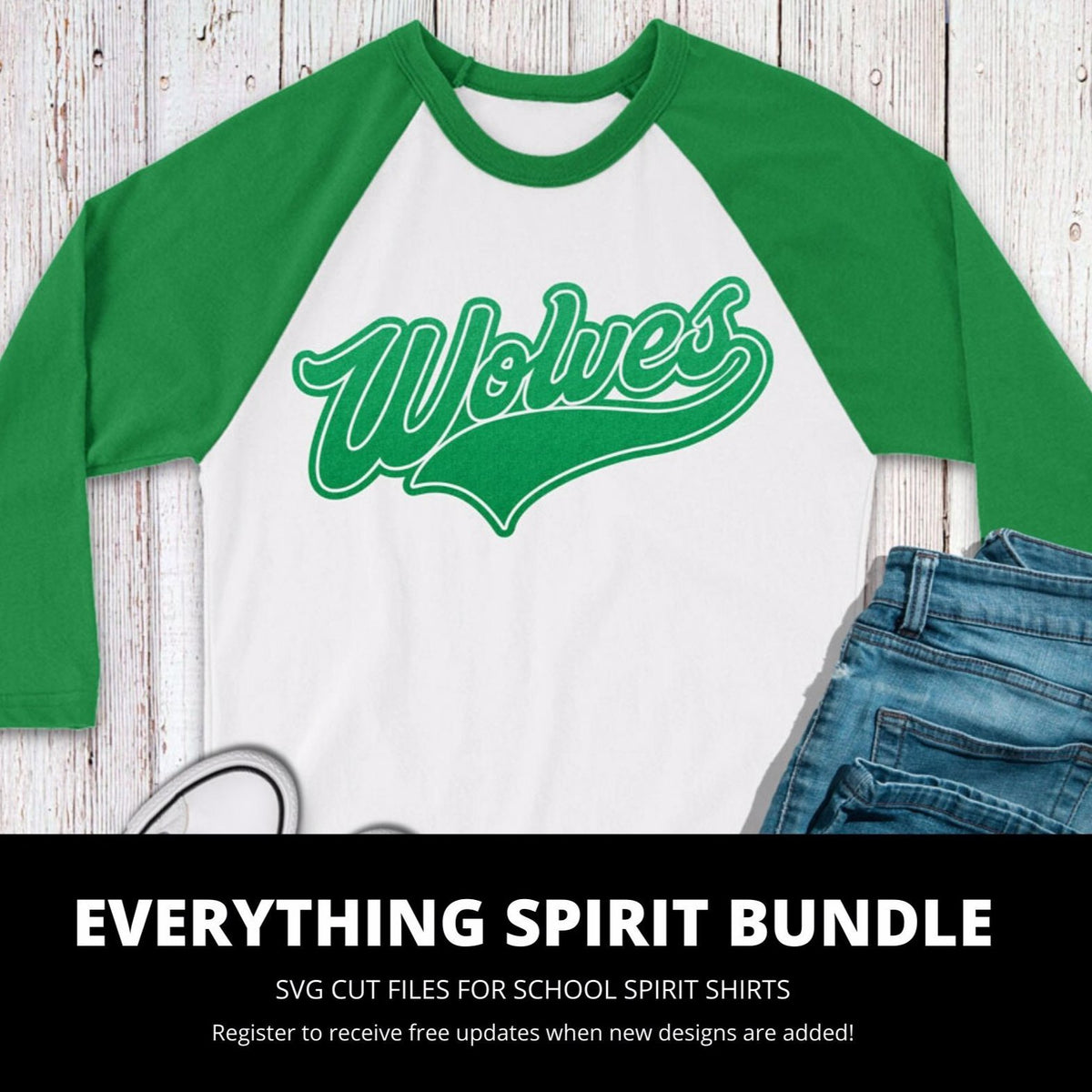 Wolves Everything Spirit Bundle | SVG DXF EPS PNG Cut Files