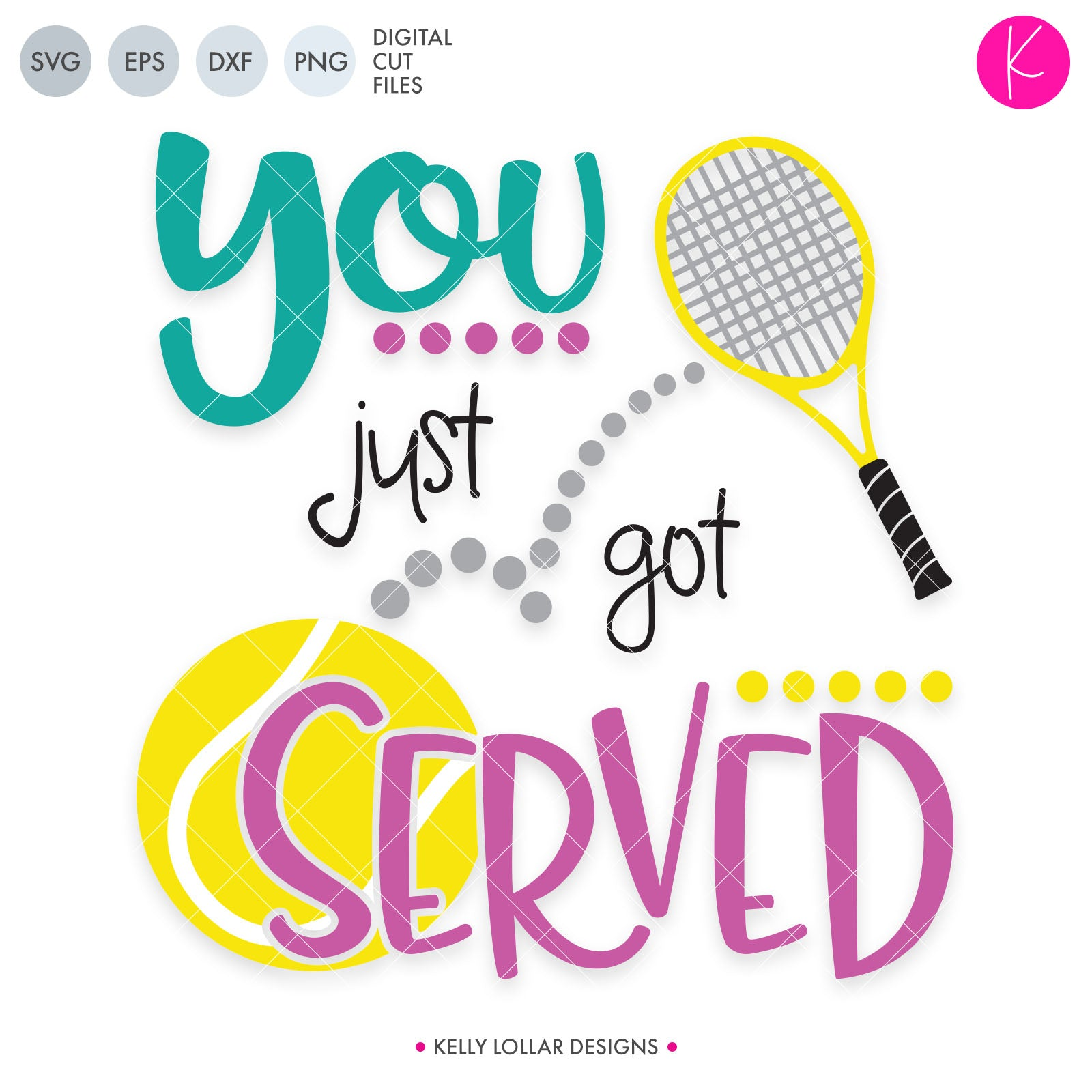 You Just Got Served | SVG DXF EPS PNG Cut Files