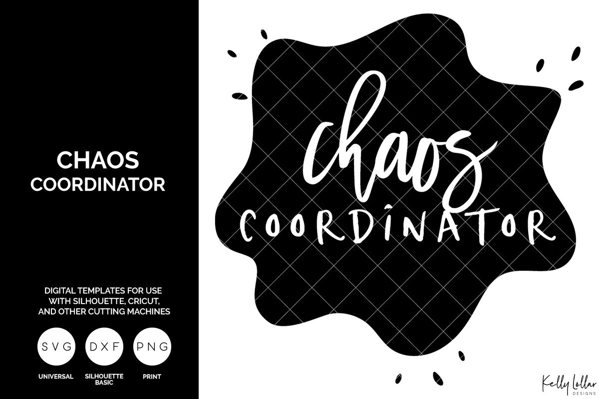 Chaos Coordinator svg cut file