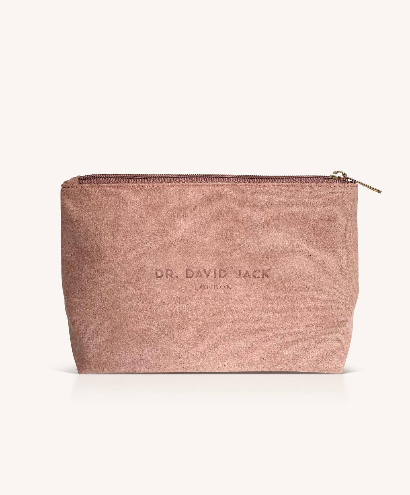 Vegan Suede Wash Bag - Dr. David Jack