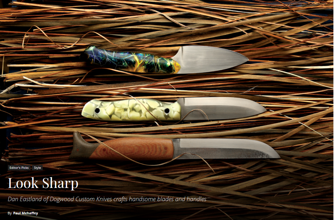 Dogwood Knives appear in TOWN magazine