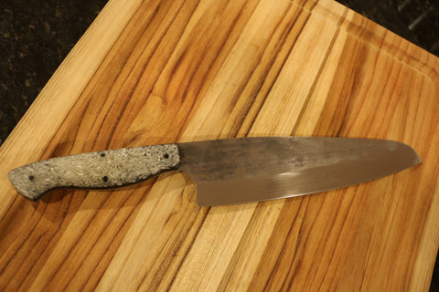 Chef's Knife with Rice Handle