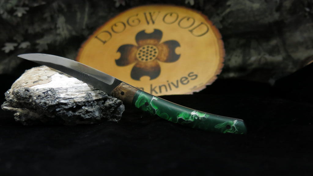 Fish & Fowl with Green Hybrid Handle