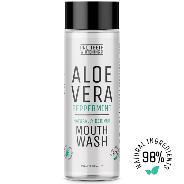 Aloe Vera Natural Mouthwash Peppermint Flavour 98% Naturally Derived