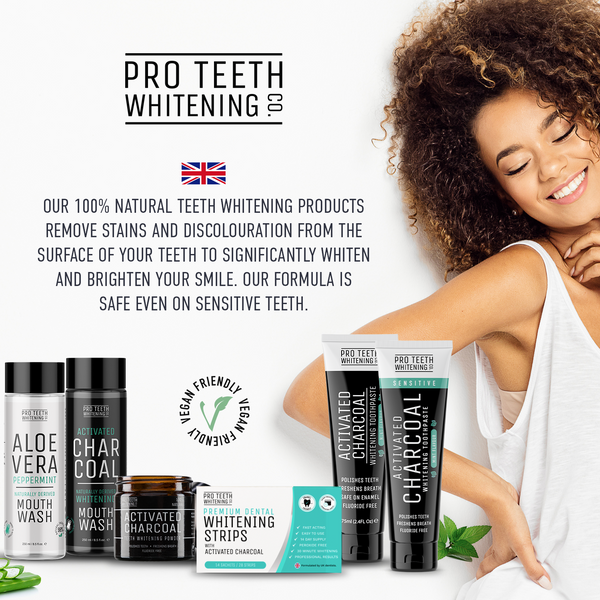 Activated Charcoal Sensitive Whitening Toothpaste Mint Flavour, 100% Naturally Derived & Fluoride Free