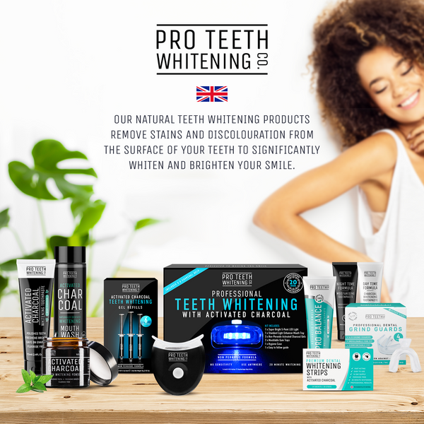 Professional Teeth Whitening Kit with Activated Charcoal