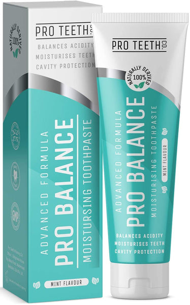 Pro Balance Advanced Formula Toothpaste 75ml - Mint Flavour and 100% Naturally Derived.