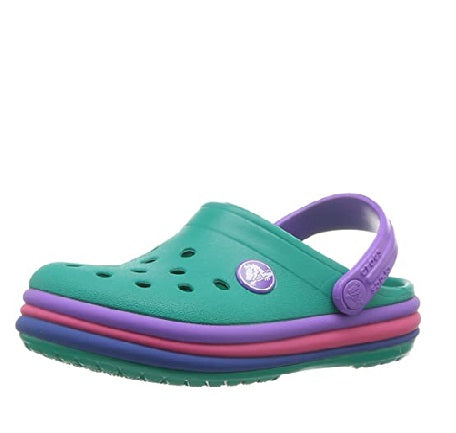 Green Rainbow Clogs - MunchkinGear.com
