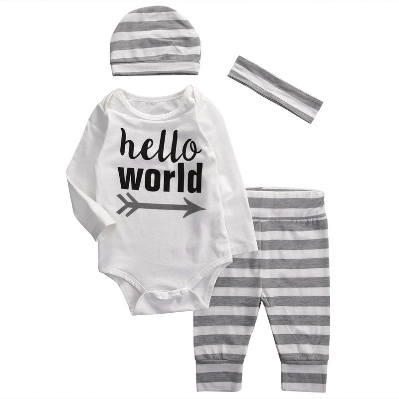 Hello World 4 PC Set - MunchkinGear.com