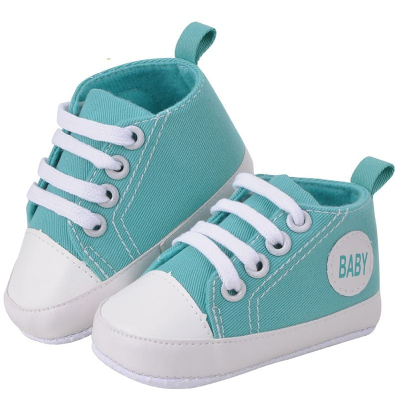 Turquoise Sneakers - MunchkinGear.com