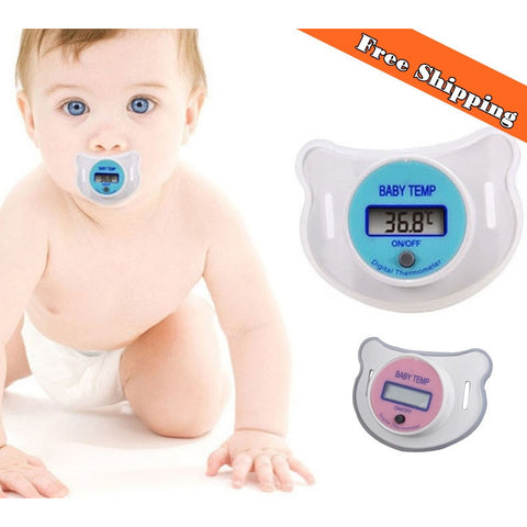 Baby Pacifier Thermometer - MunchkinGear.com