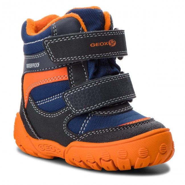 Orange Geox Winter Boots - MunchkinGear.com
