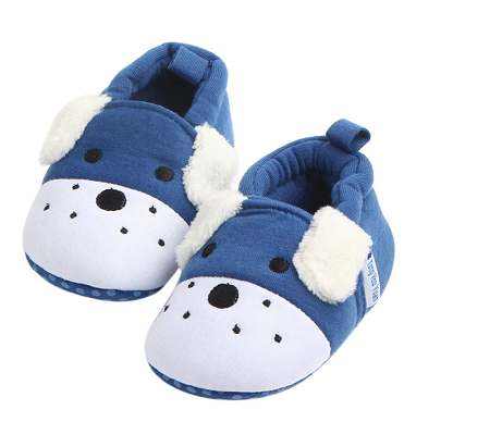 Blue Slippers