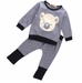 Gold Bear 2 PC Set - MunchkinGear.com