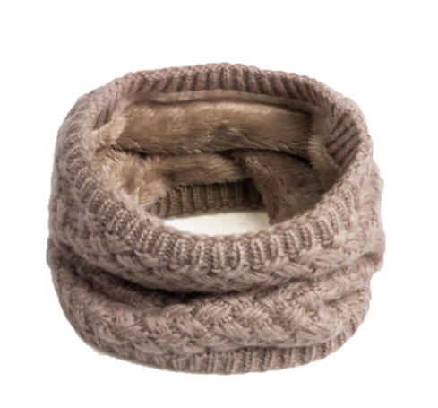 Beige Warm Neck Warmer