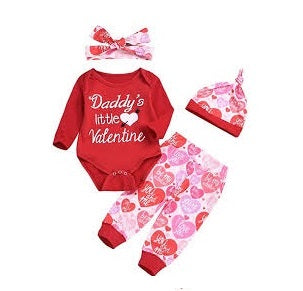 Daddy's Little Valentine Set
