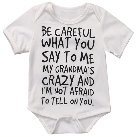 Grandma is Crazy Onesie