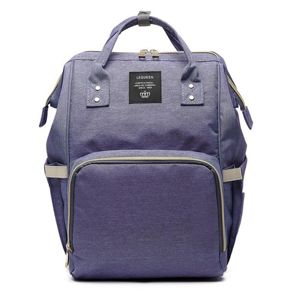 Purple Fashionable Diaper Bag - MunchkinGear.com
