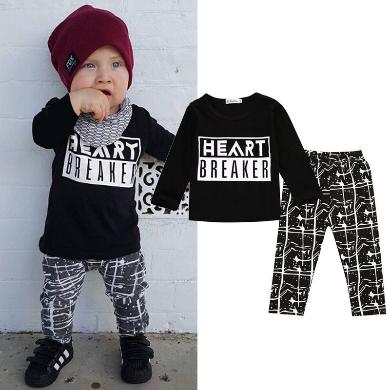Heart Breaker Casual Set - MunchkinGear.com