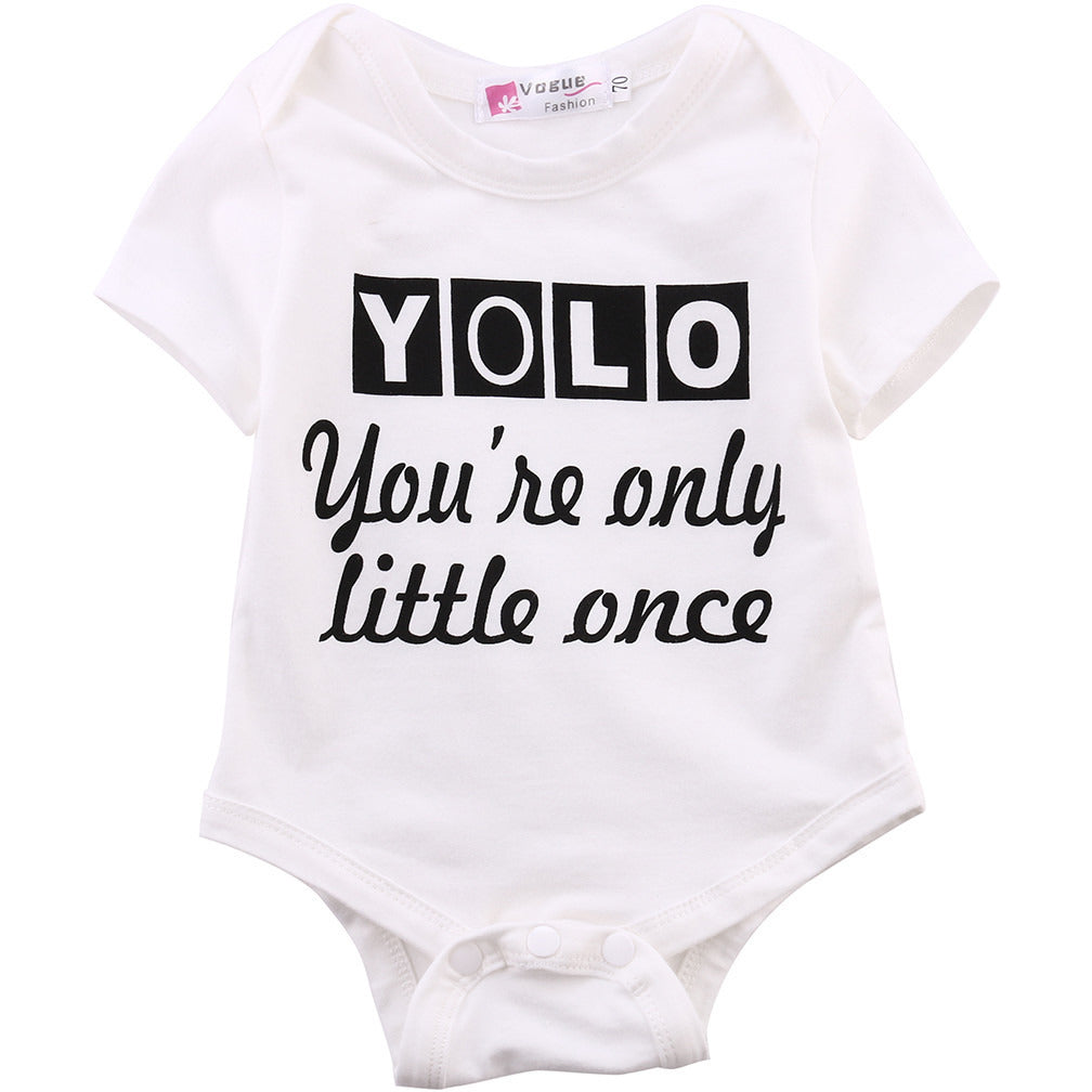 YOLO You're Only Little Once - MunchkinGear.com