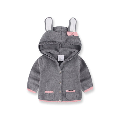 Rabbit Hooded Sweaters - MunchkinGear.com