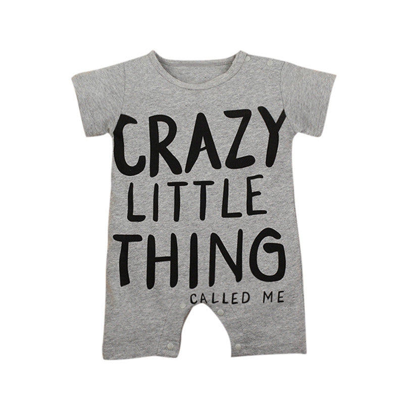 Crazy Little Thing Called Me Romper - MunchkinGear.com