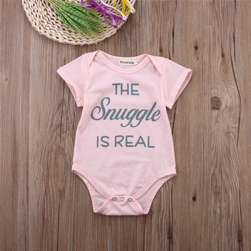 The Snuggle Is Real Onesie - MunchkinGear.com