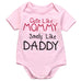 Cute Like Mommy, Smelly Like Daddy Onesie - MunchkinGear.com