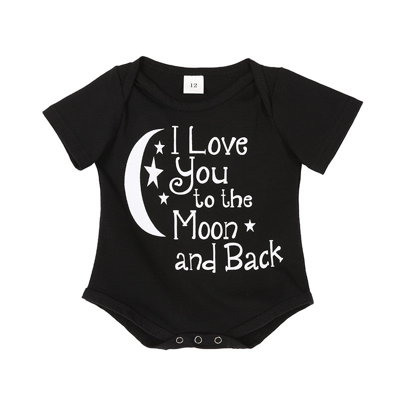 I Love You To The Moon And Back Onesie - MunchkinGear.com