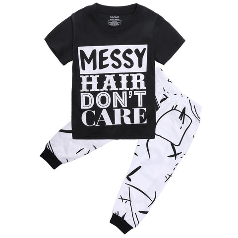 Messy Hair Don't Care Set - MunchkinGear.com