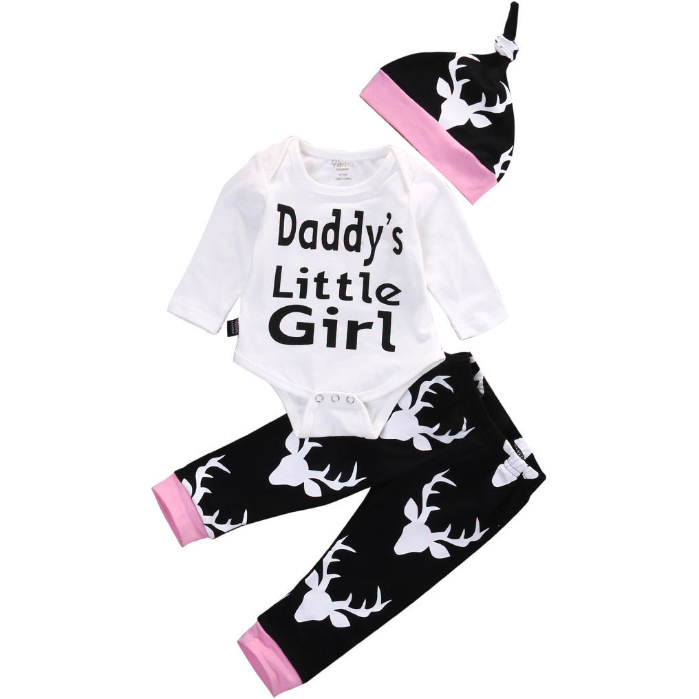 Daddy's Little Girl 3 PC Set - MunchkinGear.com