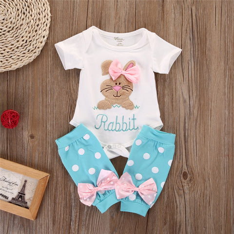 Bunny Onesie With Leggings Set - MunchkinGear.com